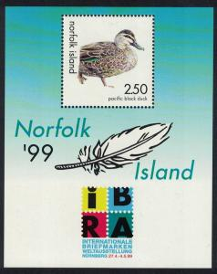 Norfolk Duck MS SG#MS698 SC#678