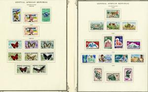 Central Africa Huge Mint Specialty Stamp Collection