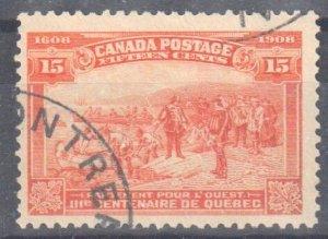 Canada Mint #102 USED