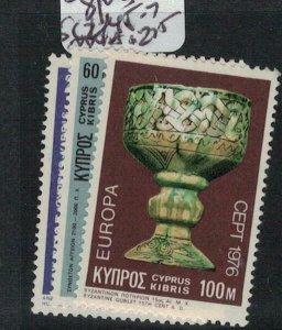 Cyprus SC 445-7 MNH (1ebo)