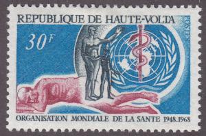 Burkina Faso 188 WHO 1968