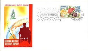 Monaco, Worldwide First Day Cover, Medical