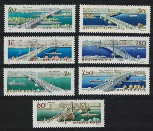 Hungary Opening of Reconstructed Elizabeth Bridge Budapest 7v SG#2024-2030