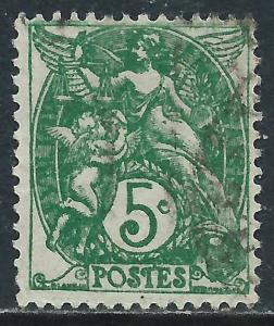 France, Sc #113, 5c Used