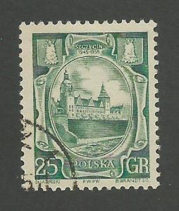 1955 Poland Scott Catalog Number 705 Used