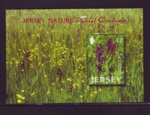 Jersey Sc 1084 2003 Wild Orchids stamp sheet mint NH