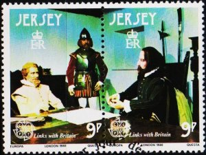 Jersey. 1980 9p(Pair) S.G.226/227 Fine Used