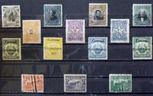 2584  El Salvador  MH/U # 277, 392-94, 402-03, 405, 431-32, 468-71     CV$ 5.00