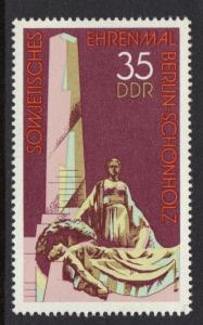 Germany DDR 1977 MNH Sovjet memorial Berlin-Schoenholz