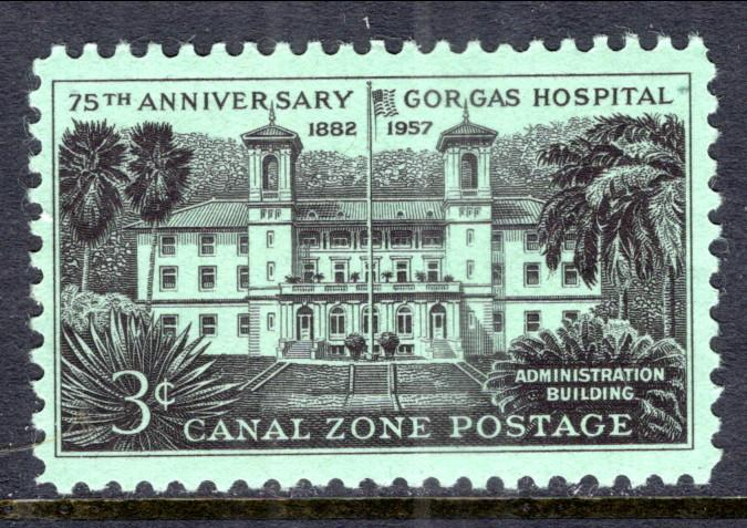 Canal Zone 158 MNH VF
