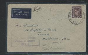 LABUAN (P2707B) AUSTRALIAN FORCES 3D FPO 037 LABUAN TO MELBOURNE