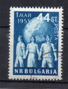 BULGARIA - 1955 - MAY DAY - Used -