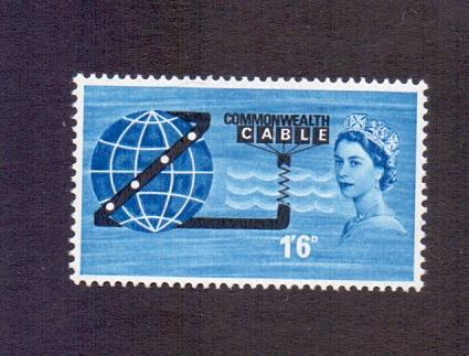 Great Britain 1963 MNH  telephone cable trans - Pacific