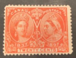 Canada #59 F-VF MINT Jubilee C$275.00