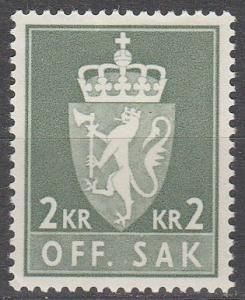 Norway #O81 MNH F-VF CV $4.00  (SU4371)