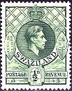 Swaziland; 1938; Sc. # 27; */MH Single Stamp