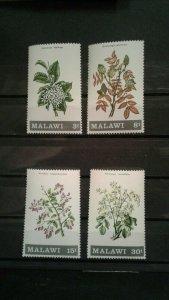 Malawi MNH 173-6 Flowers