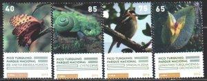 Cuba. 2016. 6178-81. Fauna of cuba, butterflies. MNH.