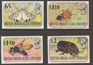 British Indian Ocean Territory 86-89 Mint VF NH
