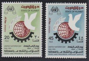 Kuwait 513-514 MNH (1970)