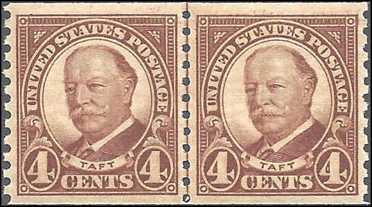 687 Mint,OG,NH... Line Pair... SCV $22.00