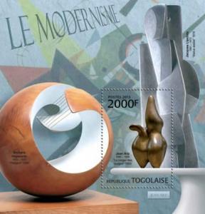 Togo - Art, Modernism - Souvenir Sheet - 20H-490