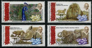 HERRICKSTAMP NEW ISSUES NIUAFO'OU Sc.# 335-38 FIPIC Summit
