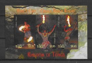 ### TONGA MNH SC#1219 FIRE DANCERS SCV$23.50