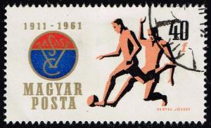 Hungary #1403 Soccer; CTO (0.25)