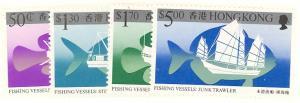 Hong Kong #474-77  Mint    VF NH