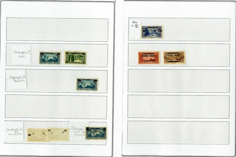 Lebanon Stamps150x Errors & Varieties 1925-1928 on pages