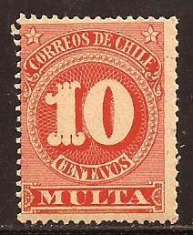 Chile  #  J - 46  Mint  N H