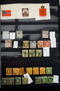 Norway 1800's to 1980's Stamp Collection