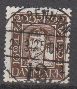 Denmark #173 F-VF Used  CV $7.75 (B11136)