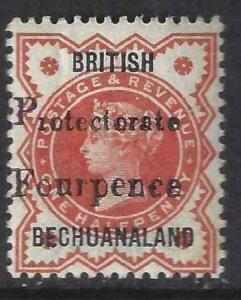 Bechuanaland Protectorate 1888 SC 68 MNH SCV $95.00