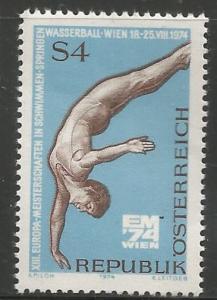 AUSTRIA, 999, MNH, DIVER