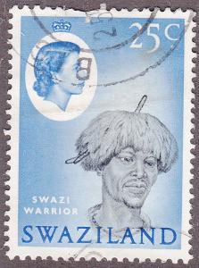 Swaziland 104 USED 1962 Swazi Warrior