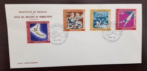 Monaco,  1968 First Day Covers - 12 Unaddressed