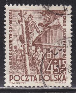Poland B69 Used 1952 Electrical Installation