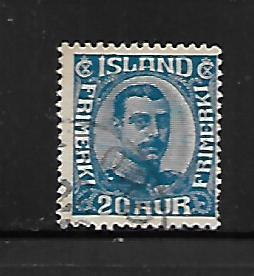 ICELAND, 118, USED, CHRISTIAN X