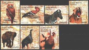 Guinea-Bissau. 1988. 982-88. Birds fauna. MNH.