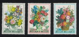 Belgium Ghent Flower Show 3v SG#2586-2588