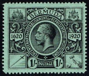 Bermuda #79 King George V; Unused (2Stars)