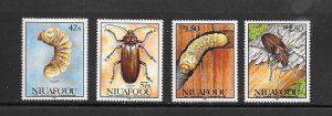 TONGA (NIUAFO'OU #140-3   INSECTS  MNH