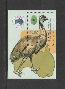 BIRDS - CUBA  #2734  MNH