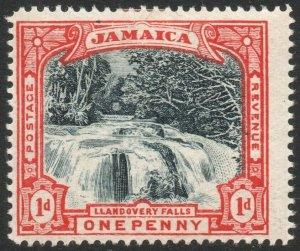 JAMAICA-1901 1d Slate-Black & Red Sg 32 MOUNTED MINT V44134