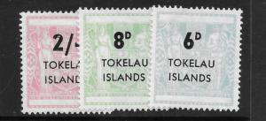 Tokelau Islands 6-8 Mint Hing C/Set