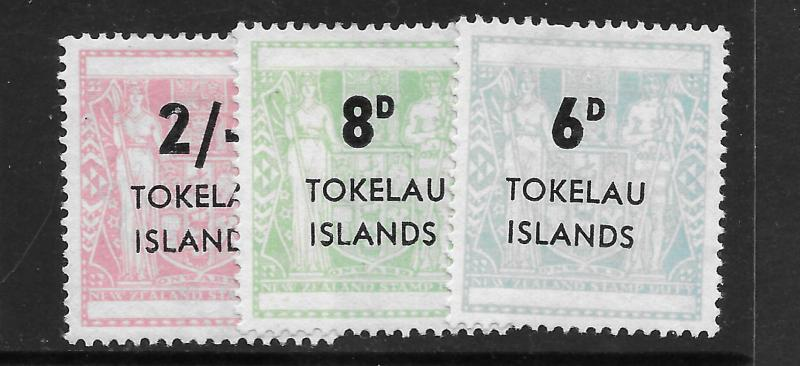 Tokelau Islands 6-8 Mint Hing C/Set