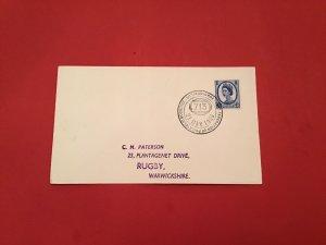 U.K Philatelic Societies Sittingbourne 1966 Special Cancel stamp cover R36071