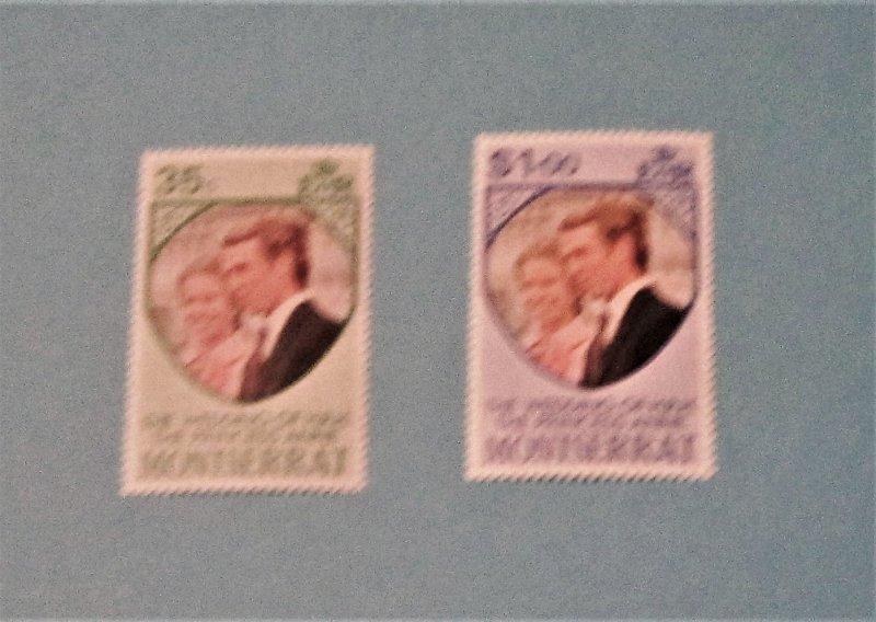 Montserrat - 300-01, MNH Set. Princess Anne's Wedding. SCV - $0.65